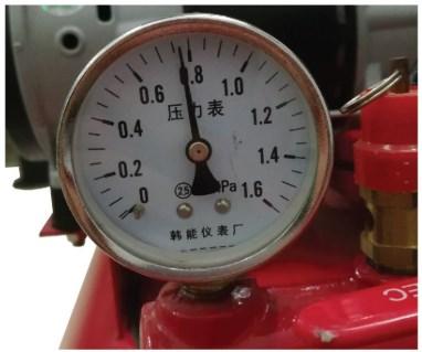 Đồng hồ áp suất máy nén