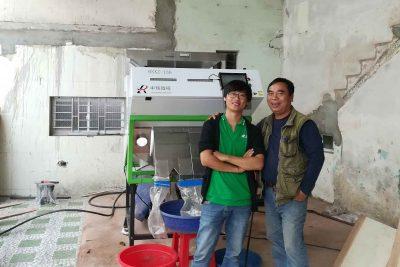 Khuyến công hỗ trợ máy tách màu hạt sản xuất hàng nông sản 2018