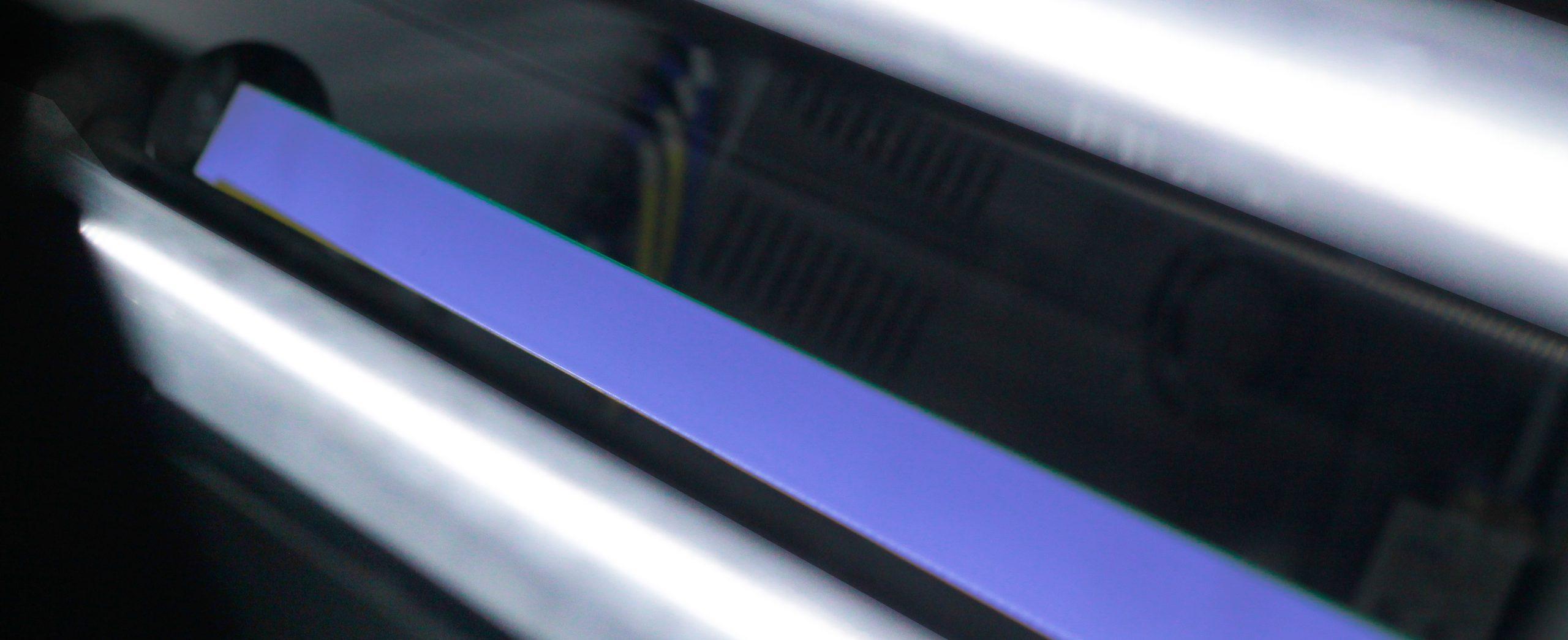 Đèn led máy phân loại nhựa pet